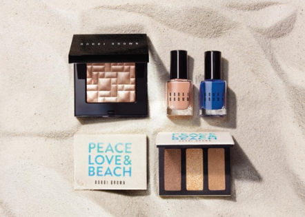 做个beach girl!BOBBI BROWN PEACE LOVE & BEACH 系列
