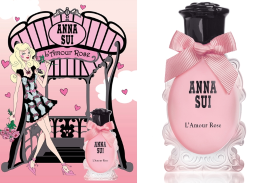 冬之恋蔷薇香!ANNA SUI L'Amour Rose香水登场